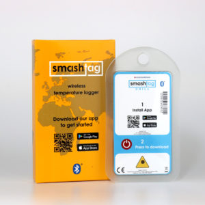 smashtag chill temperature logger packaging